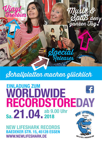 Recordstore Day 2018 at New Lifeshark Records